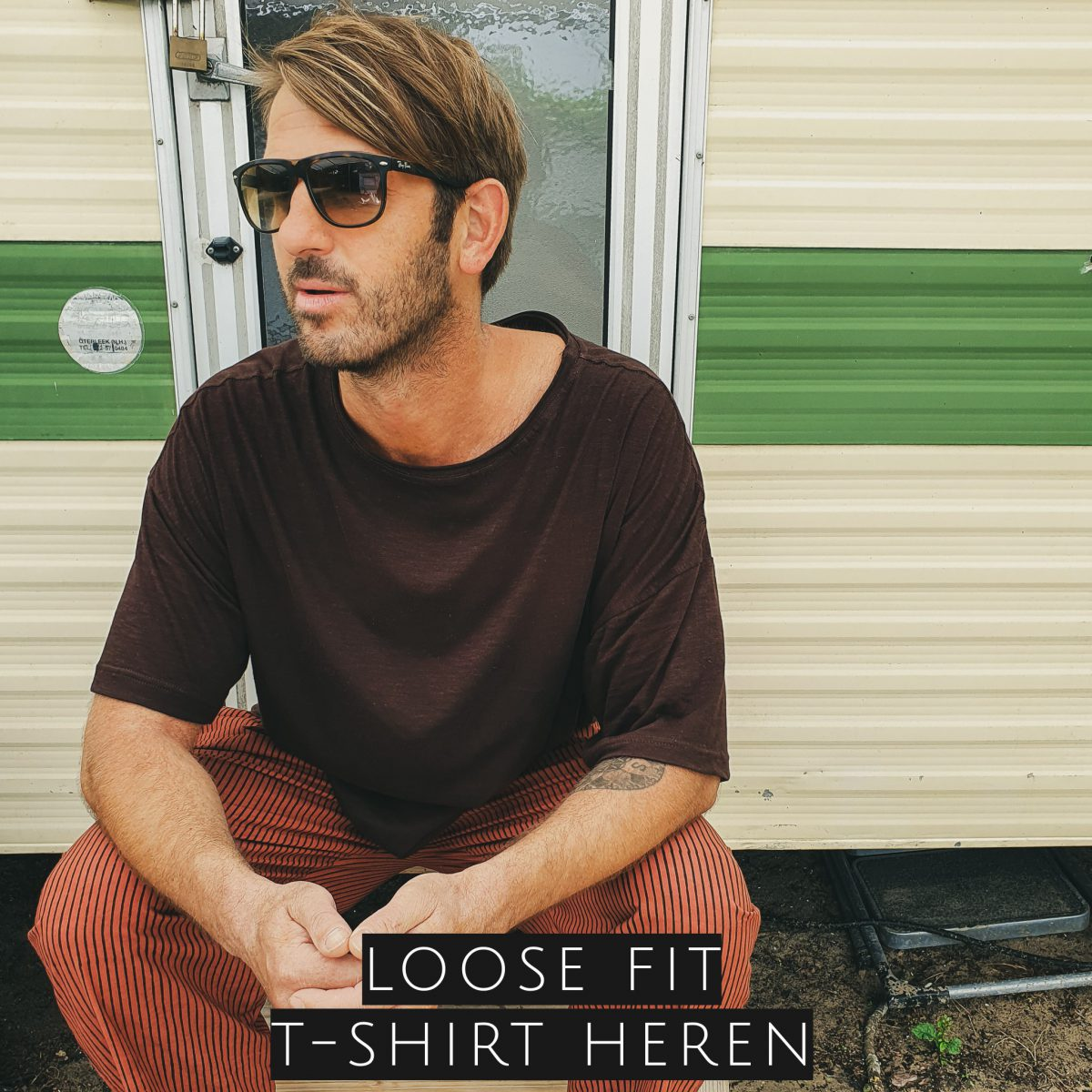 loose fit shirt heren
